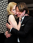 Actress Nicole Kidman and musician Keith Urban attend HBO's Official Golden Globe Awards After Party held at Circa 55 Restaurant at The Beverly...