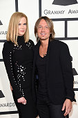 Actress Nicole Kidman and musician Keith Urban attend The 57th Annual GRAMMY Awards at the STAPLES Center on February 8 2015 in Los Angeles California