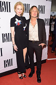 Actress Nicole Kidman and singer Keith Urban attend the 62nd annual BMI Country awards on November 4 2014 in Nashville Tennessee