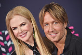 Actress Nicole Kidman and singer Keith Urban attends the 2016 CMT Music awards at the Bridgestone Arena on June 8 2016 in Nashville Tennessee