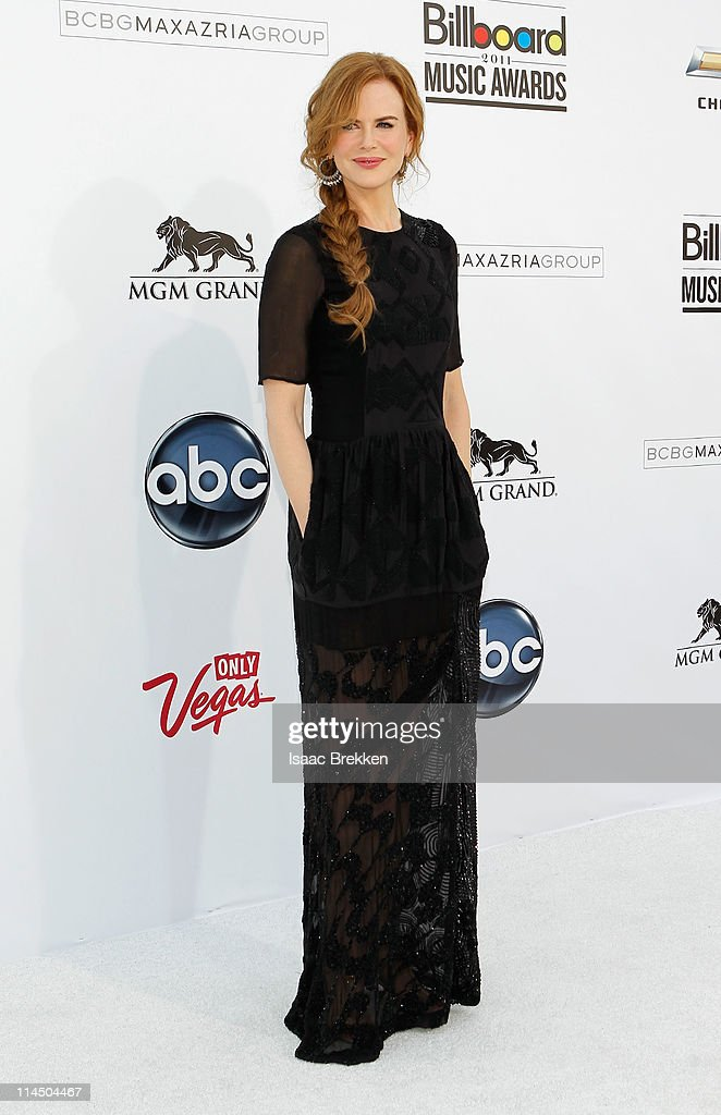 Actress <a gi-track='captionPersonalityLinkClicked' href=/galleries/search?phrase=Nicole+Kidman&family=editorial&specificpeople=156404 ng-click='$event.stopPropagation()'>Nicole Kidman</a> arrives at the 2011 Billboard Music Awards at the MGM Grand Garden Arena May 22, 2011 in Las Vegas, Nevada.