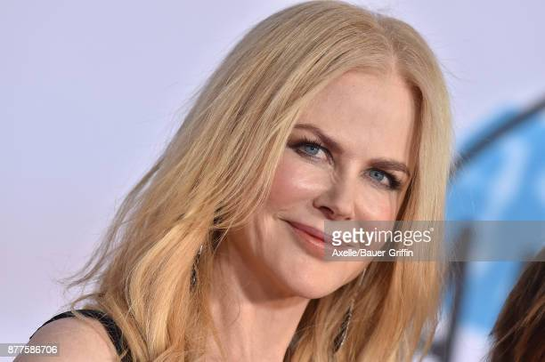 Actress Nicole Kidman arrives at the 2017 American Music Awards at Microsoft Theater on November 19 2017 in Los Angeles California