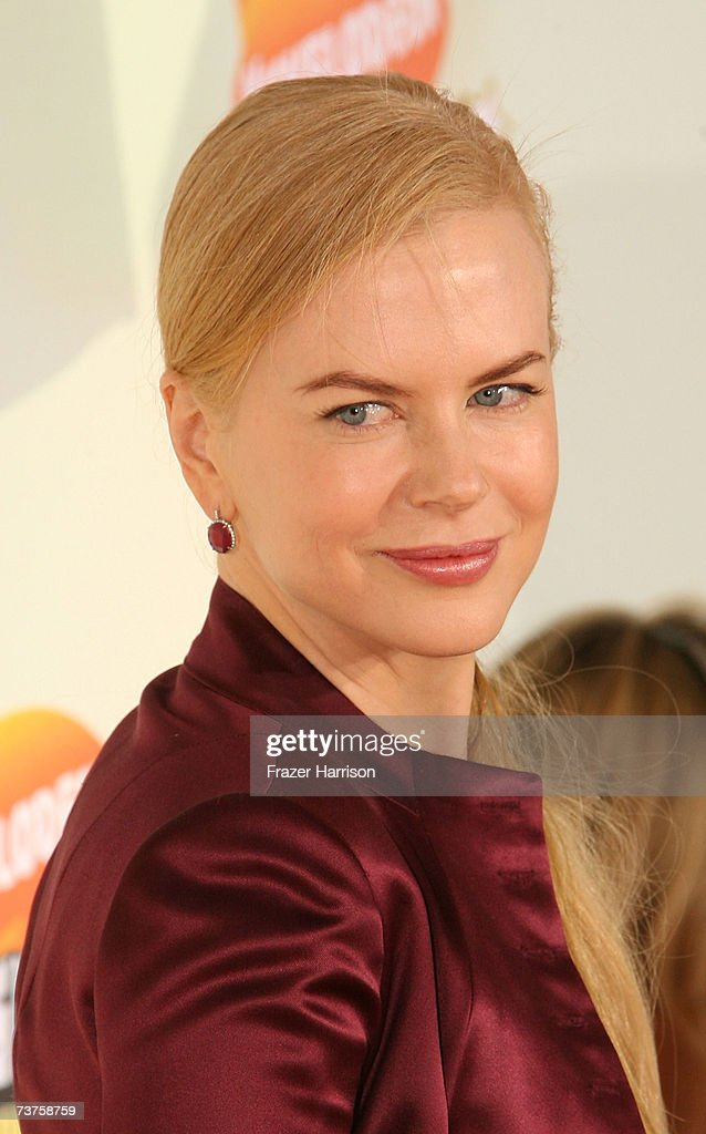 Actress Nicole Kidman arrives at the 20th Annual Kid's Choice Awards held at the UCLA Pauley Pavilion on March 31 2007 in Westwood California