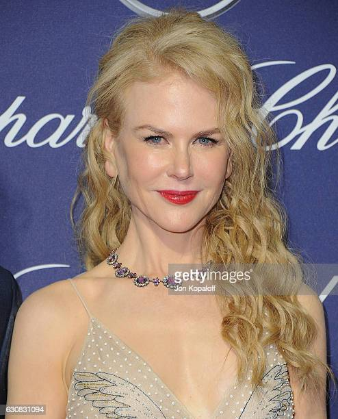 Actress Nicole Kidman arrives at the 28th Annual Palm Springs International Film Festival Film Awards Gala at Palm Springs Convention Center on...