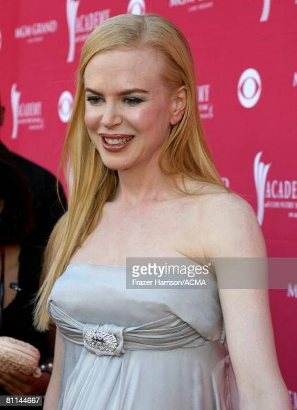 ACCESS***Actress Nicole Kidman arrives at the 43rd annual Academy Of Country Music Awards held at the MGM Grand Garden Arena on May 18 2008 in Las...
