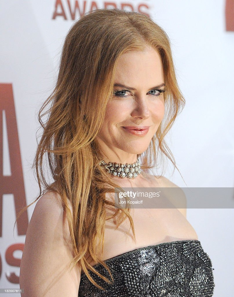 Actress <a gi-track='captionPersonalityLinkClicked' href=/galleries/search?phrase=Nicole+Kidman&family=editorial&specificpeople=156404 ng-click='$event.stopPropagation()'>Nicole Kidman</a> arrives at the 45th annual CMA Awards at the Bridgestone Arena on November 9, 2011 in Nashville, Tennessee.