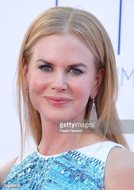 Actress Nicole Kidman arrives at the 64th Annual Primetime Emmy Awards at Nokia Theatre LA Live on September 23 2012 in Los Angeles California