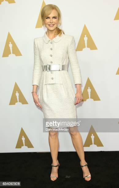 Actress Nicole Kidman arrives at the 89th Annual Academy Awards Nominee Luncheon at The Beverly Hilton Hotel on February 6 2017 in Beverly Hills...