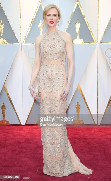 Actress Nicole Kidman arrives at the 89th Annual Academy Awards at Hollywood Highland Center on February 26 2017 in Hollywood California