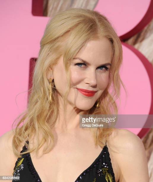Actress Nicole Kidman arrives at the premiere of HBO's 'Big Little Lies' at TCL Chinese Theatre on February 7 2017 in Hollywood California