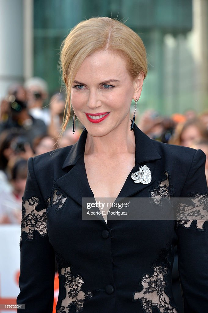 Actress Nicole Kidman arrives at 'The Railway Man' Premiere during the 2013 Toronto International Film Festival at Roy Thomson Hall on September 6, 2013 in Toronto, Canada.