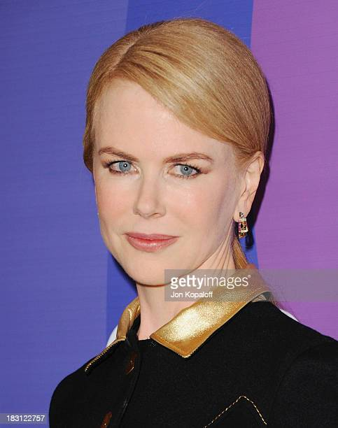 Actress Nicole Kidman arrives at Variety's 5th Annual Power Of Women Event at the Beverly Wilshire Four Seasons Hotel on October 4 2013 in Beverly...