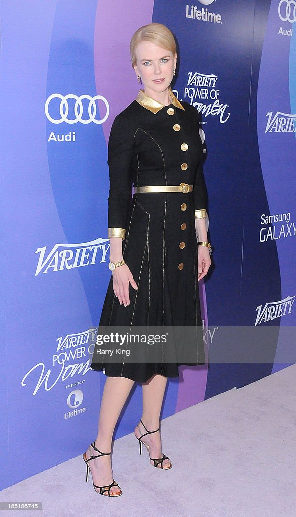 Actress Nicole Kidman arrives at Variety's 5th Annual Power Of Women Event on October 4, 2013 at the Beverly Wilshire Four Seasons Hotel in Beverly Hills, California.