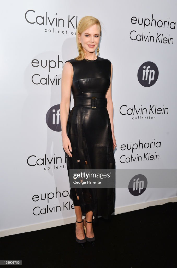 Actress Nicole Kidman attends a party hosted by Calvin Klein and IFP to celebrate women in film at The 66th Annual Cannes Film Festival at L'Ecrin Plage on May 16, 2013 in Cannes, France.