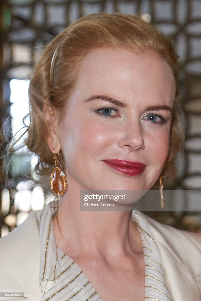 Actress <a gi-track='captionPersonalityLinkClicked' href=/galleries/search?phrase=Nicole+Kidman&family=editorial&specificpeople=156404 ng-click='$event.stopPropagation()'>Nicole Kidman</a> attends CW3PR Presents the inaugural 'Gold Meets Golden' event at New Flagship Equinox Sports Club on January 12, 2013 in Los Angeles, California.