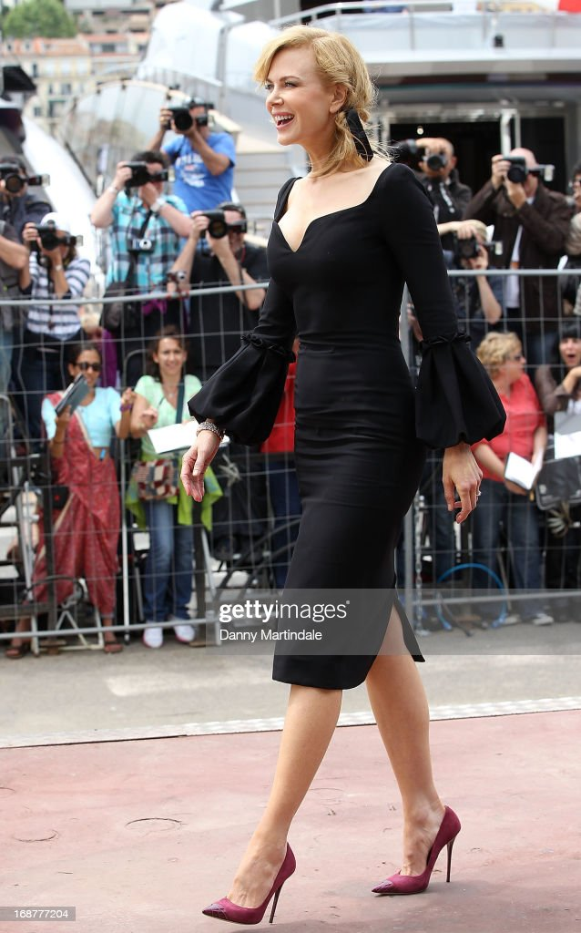 Actress Nicole Kidman attends day 1 of the 66th Annual Cannes Film Festival on May 15, 2013 in Cannes, France.