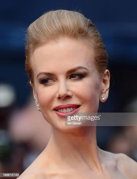 Actress Nicole Kidman attends Electrolux at Opening Night of The 66th Annual Cannes Film Festival at the Theatre Lumiere on May 15 2013 in Cannes...
