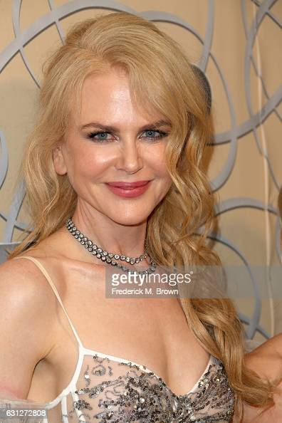 Actress Nicole Kidman attends HBO's Official Golden Globe Awards After Party at Circa 55 Restaurant on January 8 2017 in Beverly Hills California