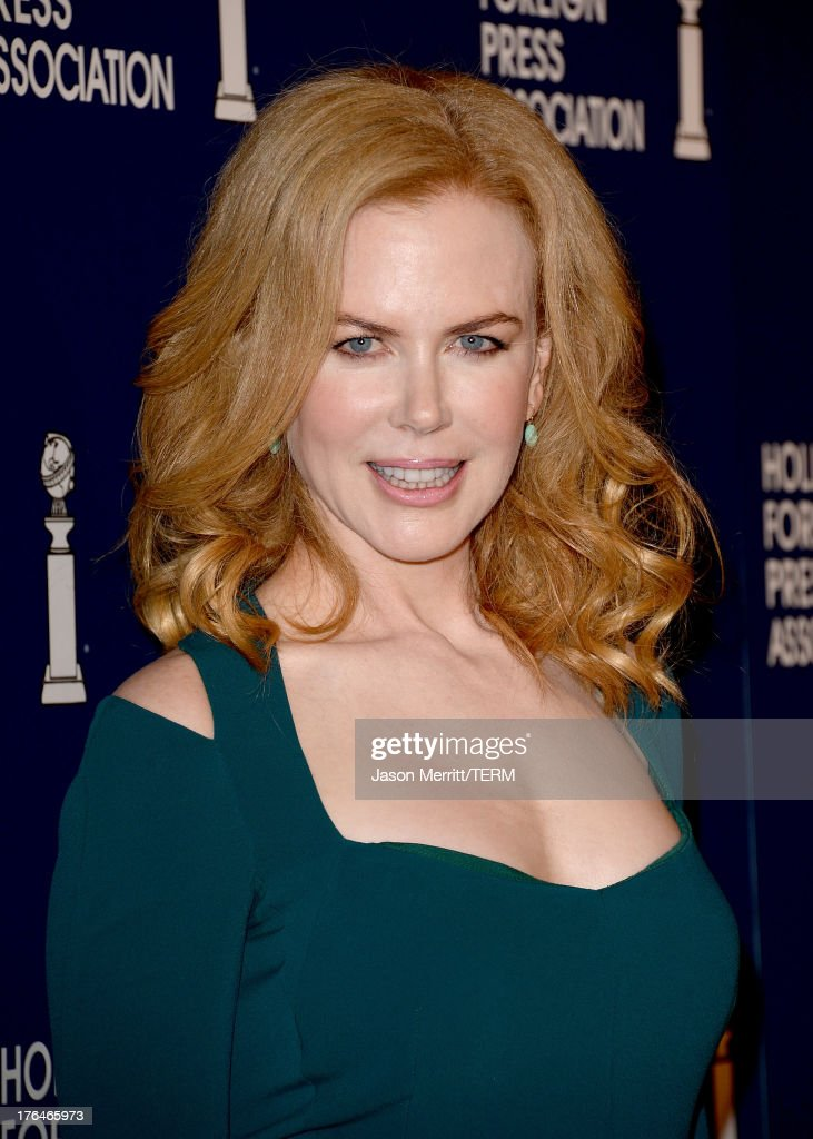 Actress Nicole Kidman attends Hollywood Foreign Press Association's 2013 Installation Luncheon at The Beverly Hilton Hotel on August 13, 2013 in Beverly Hills, California.