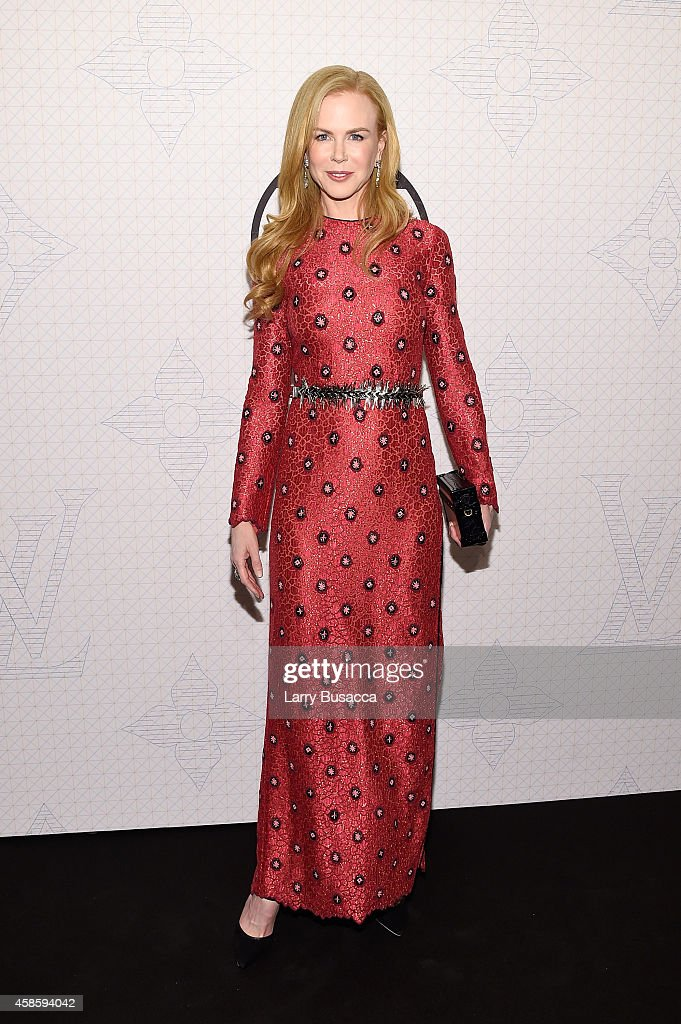 Actress <a gi-track='captionPersonalityLinkClicked' href=/galleries/search?phrase=Nicole+Kidman&family=editorial&specificpeople=156404 ng-click='$event.stopPropagation()'>Nicole Kidman</a> attends Louis Vuitton Monogram celebration at Museum of Modern Art on November 7, 2014 in New York City.