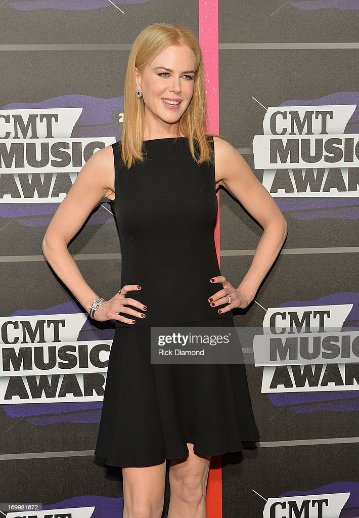 Actress Nicole Kidman attends the 2013 CMT Music awards at the Bridgestone Arena on June 5, 2013 in Nashville, Tennessee.