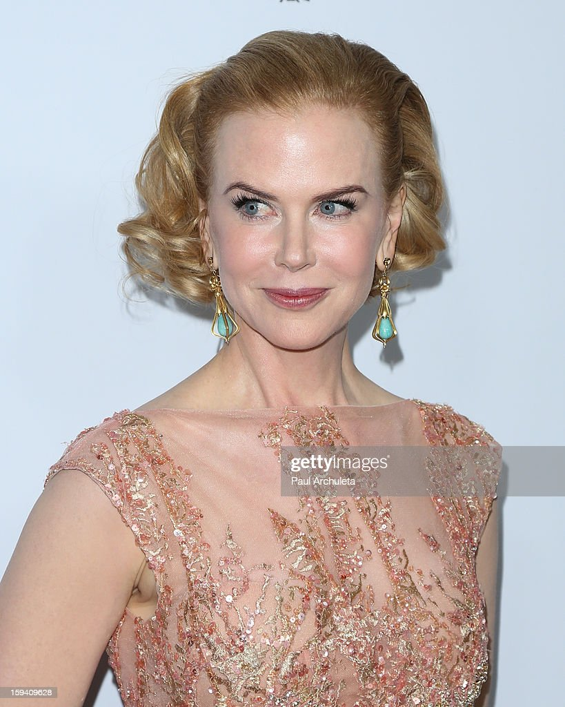 Actress Nicole Kidman attends the 2013 G'Day USA Los Angeles Black Tie Gala at JW Marriott Los Angeles at L.A. LIVE on January 12, 2013 in Los Angeles, California.