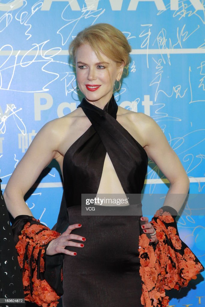 Actress Nicole Kidman attends the 2013 Huading Awards ceremony at The Venetian on October 7, 2013 in Macau, Macau.