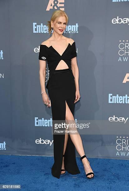 Actress Nicole Kidman attends The 22nd Annual Critics' Choice Awards at Barker Hangar on December 11 2016 in Santa Monica California