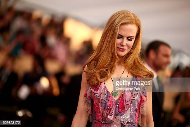 Actress Nicole Kidman attends The 22nd Annual Screen Actors Guild Awards at The Shrine Auditorium on January 30 2016 in Los Angeles California...