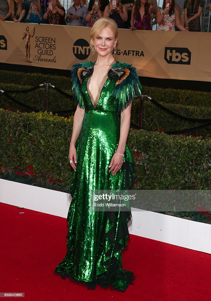 Actress Nicole Kidman attends the 23rd Annual Screen Actors Guild Awards at The Shrine Expo Hall on January 29, 2017 in Los Angeles, California.