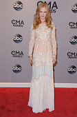 Actress Nicole Kidman attends the 48th annual CMA Awards at the Bridgestone Arena on November 5 2014 in Nashville Tennessee