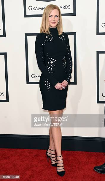 Actress Nicole Kidman attends The 57th Annual GRAMMY Awards at the STAPLES Center on February 8 2015 in Los Angeles California