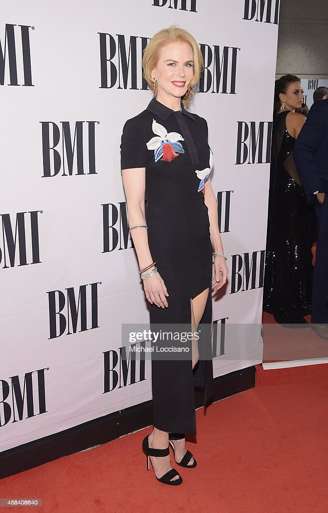 Actress <a gi-track='captionPersonalityLinkClicked' href=/galleries/search?phrase=Nicole+Kidman&family=editorial&specificpeople=156404 ng-click='$event.stopPropagation()'>Nicole Kidman</a> attends the 62nd annual BMI Country awards on November 4, 2014 in Nashville, Tennessee.