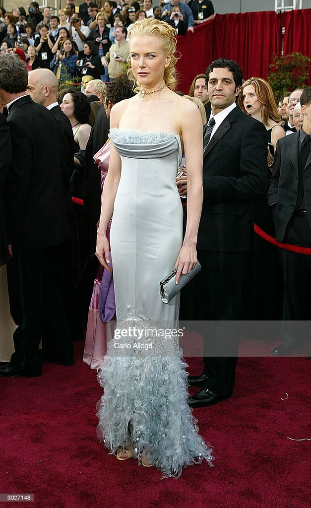 Actress Nicole Kidman attends the 76th Annual Academy Awards on February 29 2004 at the Kodak Theater in Hollywood California