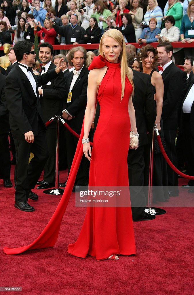 Actress Nicole Kidman attends the 79th Annual Academy Awards held at the Kodak Theatre on February 25 2007 in Hollywood California
