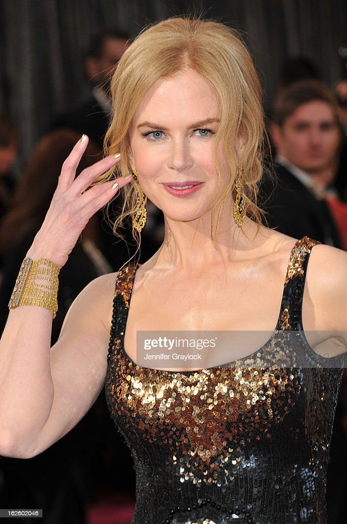 Actress Nicole Kidman attends the 85th Annual Academy Awards at Hollywood Highland Center on February 24 2013 in Hollywood California