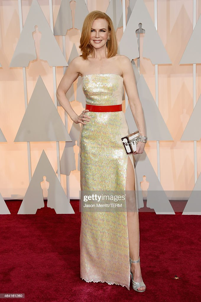 Actress <a gi-track='captionPersonalityLinkClicked' href=/galleries/search?phrase=Nicole+Kidman&family=editorial&specificpeople=156404 ng-click='$event.stopPropagation()'>Nicole Kidman</a> attends the 87th Annual Academy Awards at Hollywood & Highland Center on February 22, 2015 in Hollywood, California.