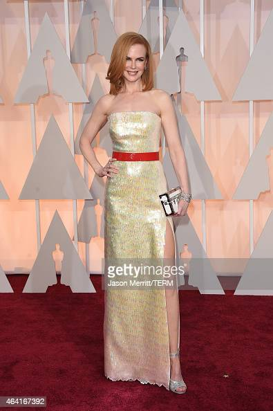 Actress Nicole Kidman attends the 87th Annual Academy Awards at Hollywood Highland Center on February 22 2015 in Hollywood California