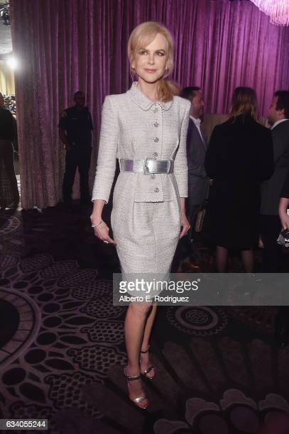 Actress Nicole Kidman attends the 89th Annual Academy Awards Nominee Luncheon at The Beverly Hilton Hotel on February 6 2017 in Beverly Hills...