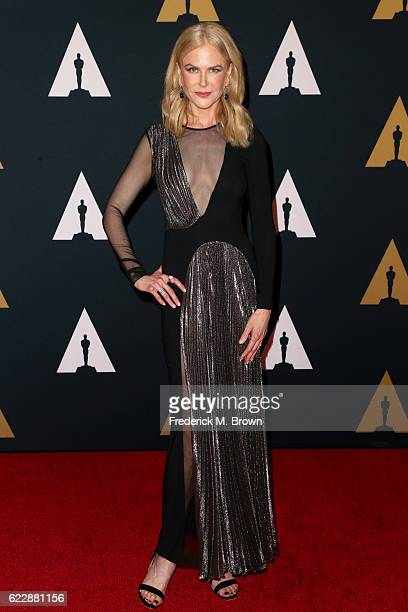 Actress Nicole Kidman attends the Academy of Motion Picture Arts and Sciences' 8th annual Governors Awards at The Ray Dolby Ballroom at Hollywood...