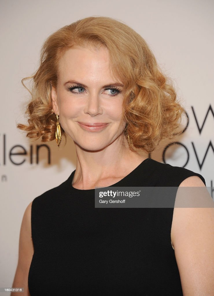 Actress <a gi-track='captionPersonalityLinkClicked' href=/galleries/search?phrase=Nicole+Kidman&family=editorial&specificpeople=156404 ng-click='$event.stopPropagation()'>Nicole Kidman</a> attends the Calvin Klein Collection post show event at Spring Studios on September 12, 2013 in New York City.