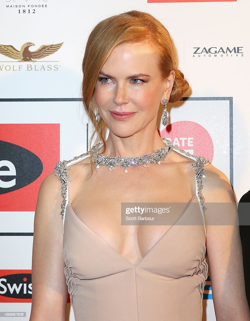 Actress <a gi-track='captionPersonalityLinkClicked' href=/galleries/search?phrase=Nicole+Kidman&family=editorial&specificpeople=156404 ng-click='$event.stopPropagation()'>Nicole Kidman</a> attends the Celebrate Life Ball at Grand Hyatt Melbourne on June 13, 2014 in Melbourne, Australia.