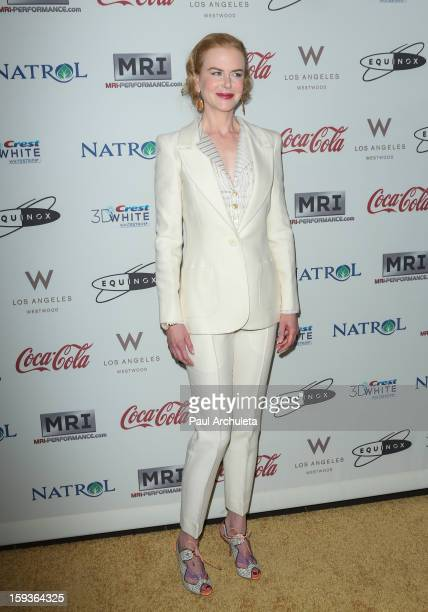 Actress Nicole Kidman attends the 'Gold Meets Golden' event on January 12 2013 in Los Angeles California