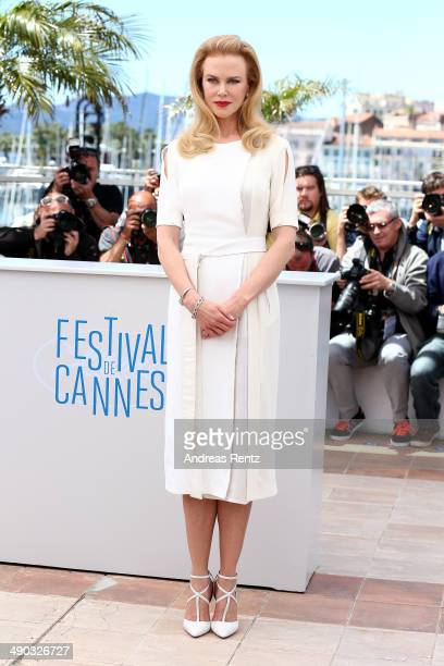 Actress Nicole Kidman attends the 'Grace of Monaco' photocall during the 67th Annual Cannes Film Festival on May 14 2014 in Cannes France
