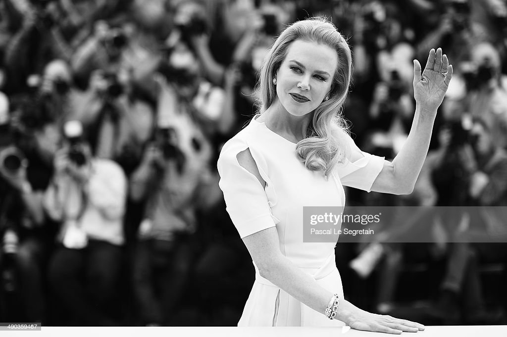 Actress <a gi-track='captionPersonalityLinkClicked' href=/galleries/search?phrase=Nicole+Kidman&family=editorial&specificpeople=156404 ng-click='$event.stopPropagation()'>Nicole Kidman</a> attends the 'Grace of Monaco' photocall during the 67th Annual Cannes Film Festival on May 14, 2014 in Cannes, France.