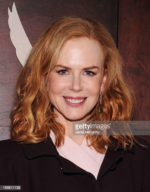 Actress Nicole Kidman attends the Grey Goose Blue Door party for Fox Searchlight Pictures 'Stoker' and 'The East' on January 20 2013 in Park City Utah