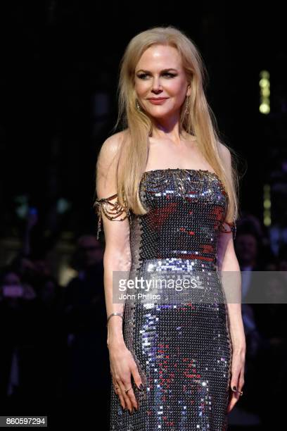 Actress Nicole Kidman attends the Headline Gala Screening UK Premiere of 'Killing of a Sacred Deer' during the 61st BFI London Film Festival on...