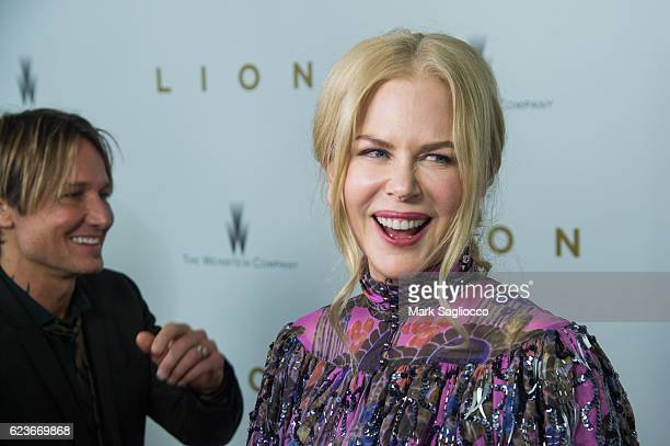 Actress Nicole Kidman attends the 'Lion' New York Premiere at Museum of Modern Art on November 16 2016 in New York City