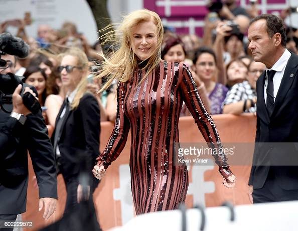 Actress Nicole Kidman attends the 'Lion' premiere during the 2016 Toronto International Film Festival at Princess of Wales Theatre on September 10...