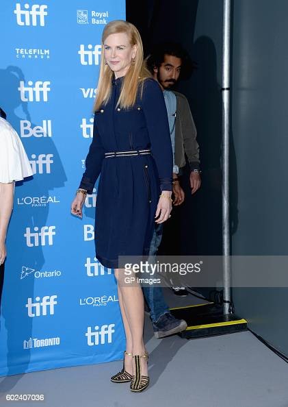 Actress Nicole Kidman attends the 'Lion' Press Conference during 2016 Toronto International Film Festival at TIFF Bell Lightbox on September 11 2016...